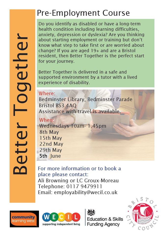 Dates and venue details of WECIL pre employment courses