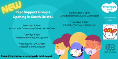 New Mental Health Peer Support Groups, in South Bristol